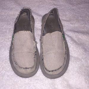Women Sanuk shoes ladies SZ 8